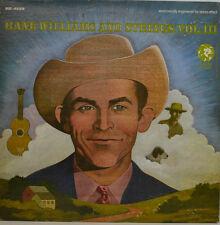 HANK WILLIAMS AND CORDE VOL. III - SAME - MGM ENREGISTREMENT SE-4529 LP (X405)