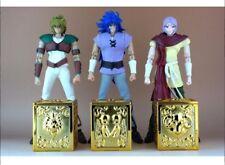 Saint Seiya Myth Cloth EX Appendix Pandora Box, AE Leo, Aries, Geminis, Mu, Saga