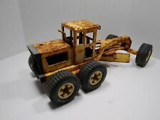 "1970's Tonka Road Grader 17"" Long Pressed Steel"