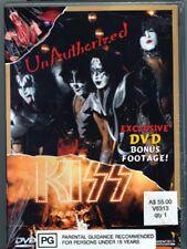 KISS VIDEO - DVD - UNAUTHORISED KISS - PLUS 15 min BONUS - USA 2000 - V631301