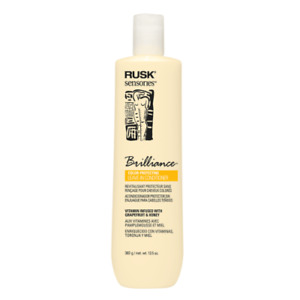NEW RUSK SENSORIES BRILLIANCE COLOR SAFE PROTECTING LEAVE IN CONDITIONER 13.5 OZ