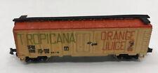 N Scale Gauge Freight Box Car Train Tropicana Orange Juice TPIX 106