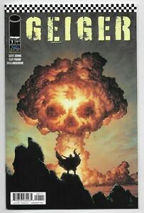 Geiger #1 Image Comic 2021 Geoff Johns Gary Frank 1st Printing Main A Cover