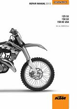 Kawasaki motorcycle atv manuals literature ebay free shipping or best offer ktm service workshop shop repair manual book 2012 150 xc fandeluxe Choice Image
