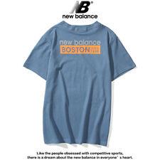 NB Training Gym Stacked Top Balance Logo T-Shirt Mens New Sports Essentials