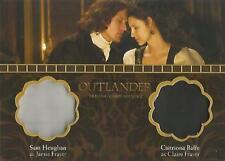 "Outlander Season 2 - DM5 ""Jamie & Claire"" Dual Wardrobe Card"