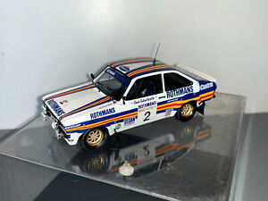 RALLY 1/43 CODE 3 TROFEU ROTHMANS FORD ESCORT RS1800 ARI VATANEN MANX STAGES