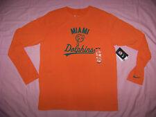 Nike Men's Miami Dolphins Long Sleeve Shirt Nwt Xl