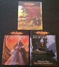D&D 3.5 Lot DRAGONLANCE DM Screen, Age of Mortals, Spectre of Sorrows D20 SW NEW