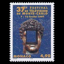 Monaco 1996 - 37th Television Festival Monte Carlo 1997 Art - Sc 2030 MNH