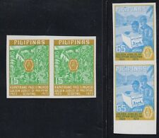PHILIPPINES, 1973. Scouts 1221a--22a Imperf pairs, Mint