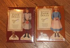 American Girl paper dolls New Kirsten and  SamanthaSealed