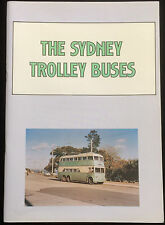 Sydney Trolley Buses Pictorial Detailed History Kogarah Potts Point Timetables