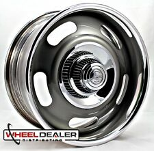 "18x9"" AMERICAN RACING RALLY WHEEL VN327 GRAY CUSTOM BUILT TO ORDER CORVETTE C10"