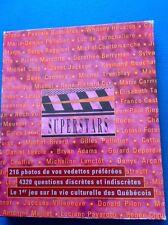 Superstars Vie Culturelle Du Québec Jeux De Société Rare Vintage