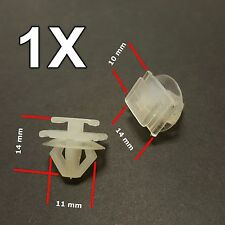 1X Peugeot 206, 307 Plastic Trim Clips- for Bumpers, Door Side Mouldings 6995X3