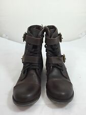 7fe5803b173d Dolce Vita Sargeant Womens Size 6 Brown Leather Fashion Ankle Boots C7