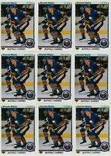 ALEXANDER MOGILNY ROOKIE 18 CARD RC LOT 1990-91 UPPER DECK HOCKEY # 24 SABRES
