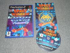 Space Invader Anniversary (Sony PlayStation 2 ps2 ) COMPLETE PAL UK TAITO