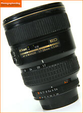 Nikon AF-S 17-35mm F2.8 OBIETTIVO ZOOM AF ED + spedizione gratuita nel Regno Unito