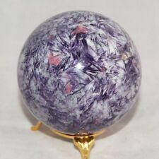 Lepidolite Tourmaline Sphere Ball Russia