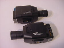 (2) Pelco B&W Ccd Camera Monochrome Video Camera