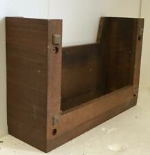 Vintage Fisher Walnut Case for Old Tube Radio