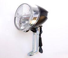 LED Fahrrad Lampe 30 Lux für Dynamo Scheinwerfer Nabendynamo Front Licht Rad