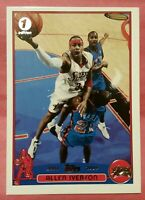 2003 topps 1st edition allen iverson Philadelphia 76ers rare card hall of fame