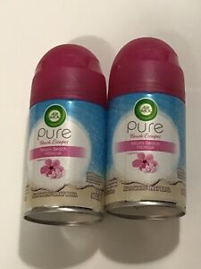 Air Wick Pure Miami Beach Hibiscus Automatic Spray Refill (Lot Of 2) New