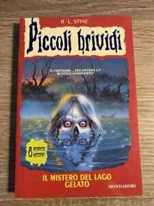 Piccoli Brividi 56 Il Mistero Del Lago Ghiacciato R.L. Stine edizione Mondadori