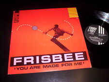 "Frisbee ‎– You Are Made For Me 12"" Third Label ‎– THIRD 5005 Italy 1985"
