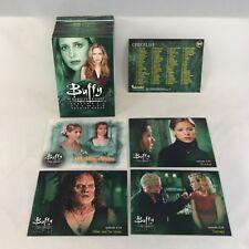 BUFFY THE VAMPIRE SLAYER SEASON 6 (Inkworks/2002) Complete Trading Card Set