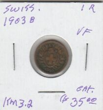 (U) Coin - Switzerland - 1903 B - G/F 1 Swiss Franc