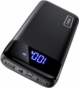 INIU Power Bank 20000mAh LED USB C Portable Charger PowerBank External Battery