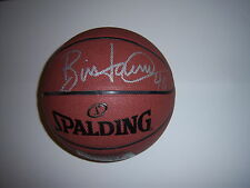 BILL LAIMBEER DETROIT PISTONS W/COA SIGNED BASKETBALL