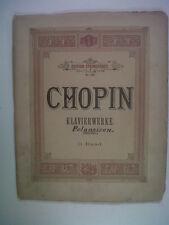 piano CHOPIN Klavierwerk , Mertke-Kronke, Steingraeber