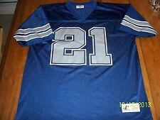 Vtg 90's Deion Sanders Dallas Cowboys football Large jersey Logo Athletic RARE