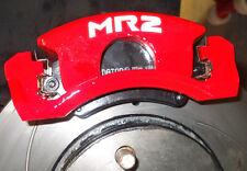 TOYOTA MR2 Mk 1 2 3 Mk I II Spyder Brake Caliper Decals Stickers ALL OPTIONS