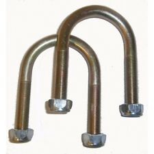 Pair of Arch Shape U bolts with nuts Iveco Daily up to 2006 single wheeler