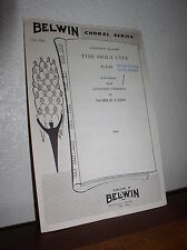 Choral Music: The Holy City by Adams Arr.Noble Cain  S.A.B.- (Belwin No.739)