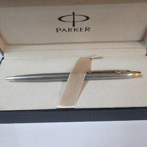 Vintage Parker 75 Sterling Silver 925 Cisele Ballpoint Pen