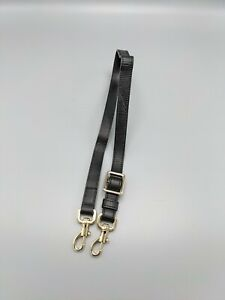 Mulberry Replacement  Strap for Bag in Black  Leather