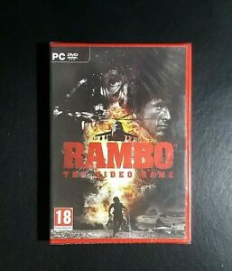 Rambo The Video Game *New / Sealed (PC, 2014) PC Game - FREE POST