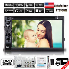 """6.2"""" Double 2Din Car Stereo DVD CD MP3 Player HD Bluetooth Ipod TV Radio In Dash"""