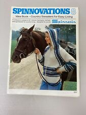 **VINTAGE** Spinnovations 8, by Spinnerin, IDEA BOOK COUNTRY SEWEATERS