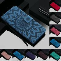 For Xiaomi Mi Play/Redmi Note 7 Sunflower Leather Flip Wallet Card Stand Cover