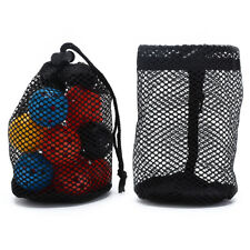 mesh nets pouch golf balls table tennis 16balls carrying holderstorage bagGx