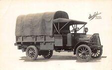 Advertising Real Photo Postcard Garford Motor Trucks~110913