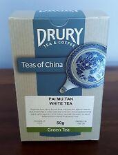 Pai Mu Tan White Tea Finest Quality Teas - Drury London - 50g Loose Leaf Tea
